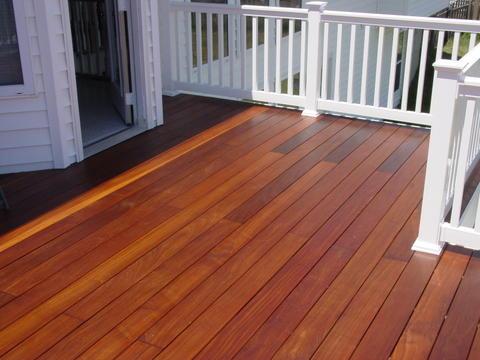Decking materials pvc decking material reviews for Vinyl decking materials
