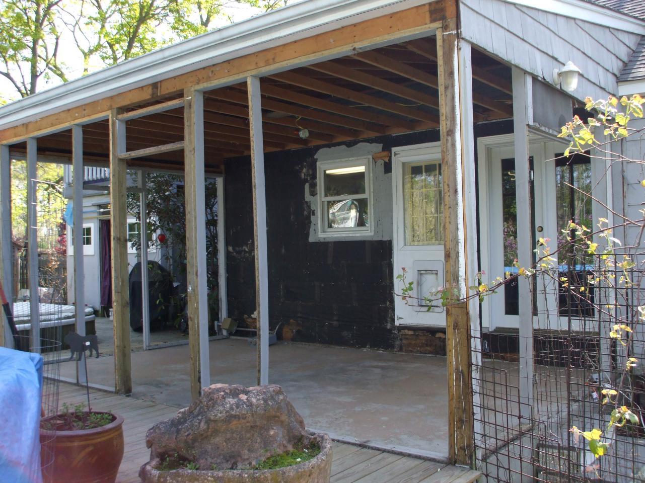 Framing A Sun Porch For Windows Framing Contractor Talk