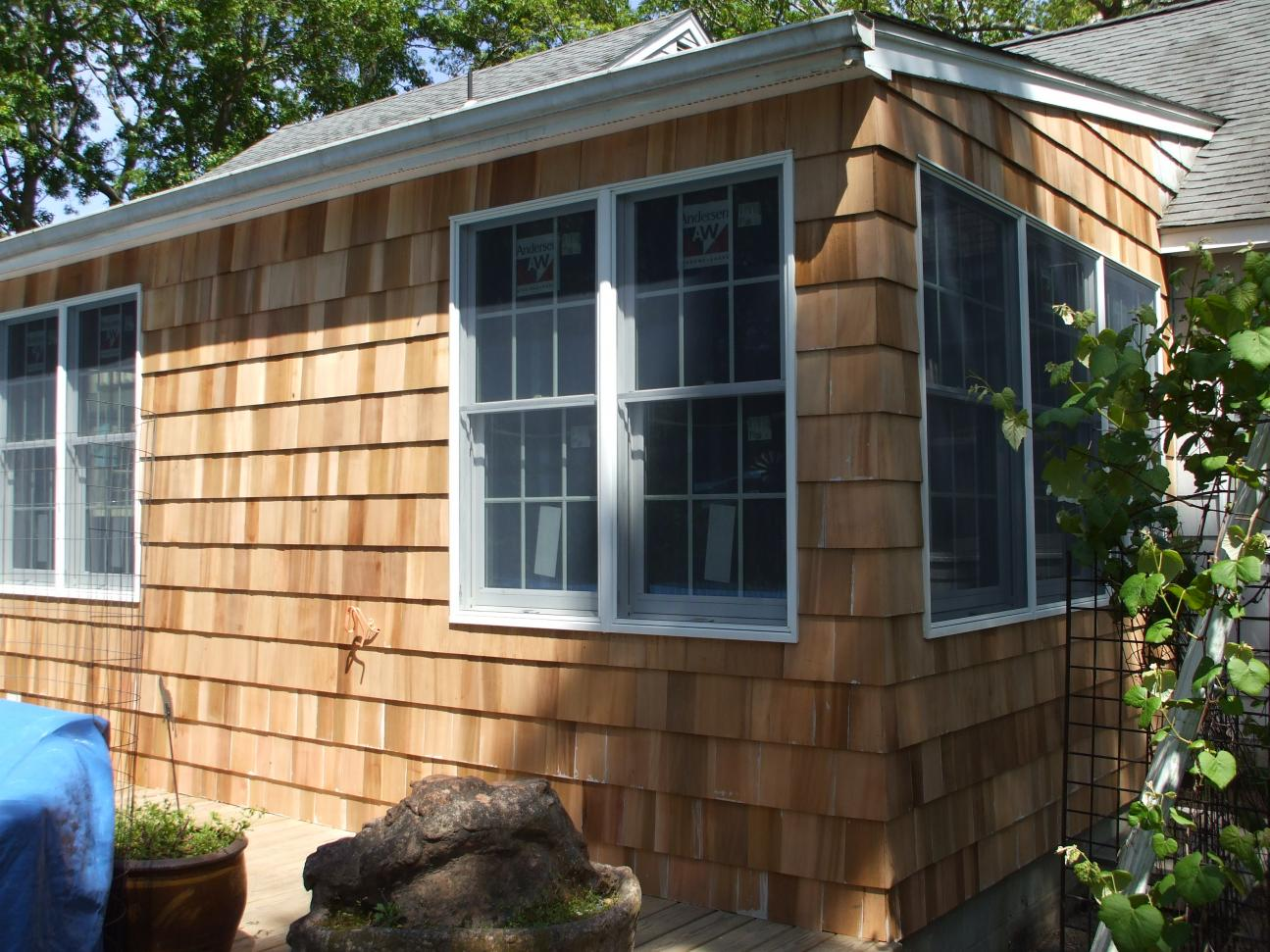 Repairing Cedar Siding Windows Siding And Doors