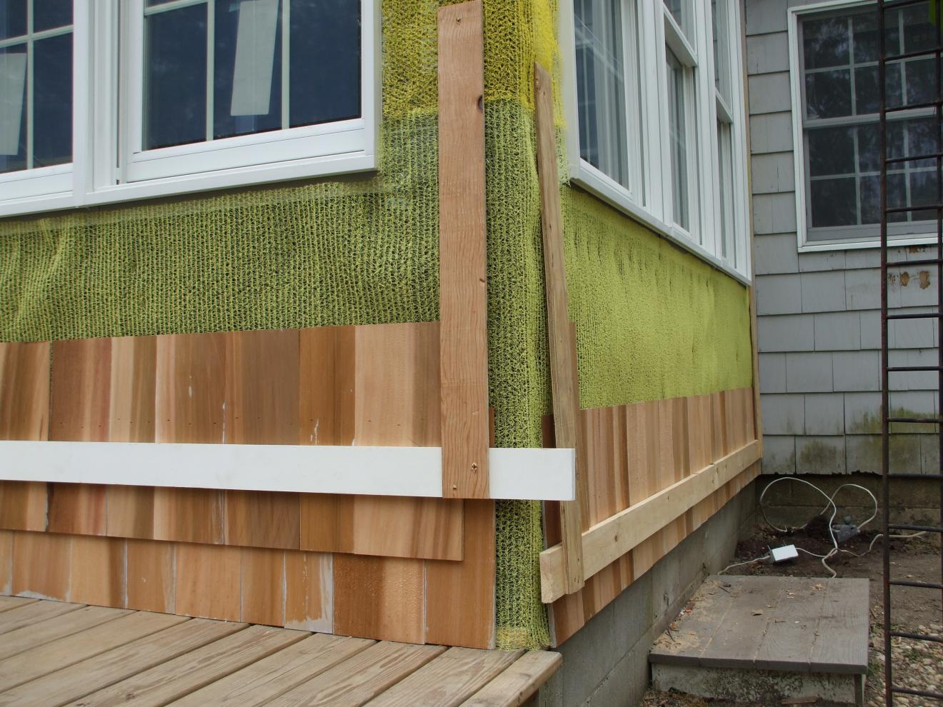 Repairing Cedar Siding Windows Siding And Doors