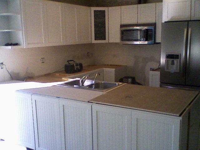 Kraftmaid Cabinetry Janets Kitchen Work Progress