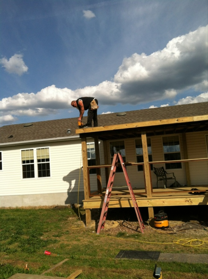 New Covered Deck Page 3 Decks Amp Fencing Contractor Talk