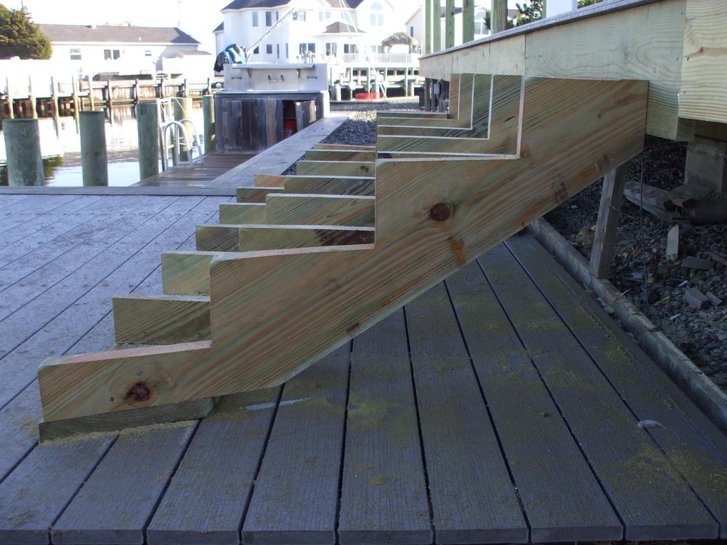 Merveilleux Framing Help For Inside Corner Stairs Decks Fencing