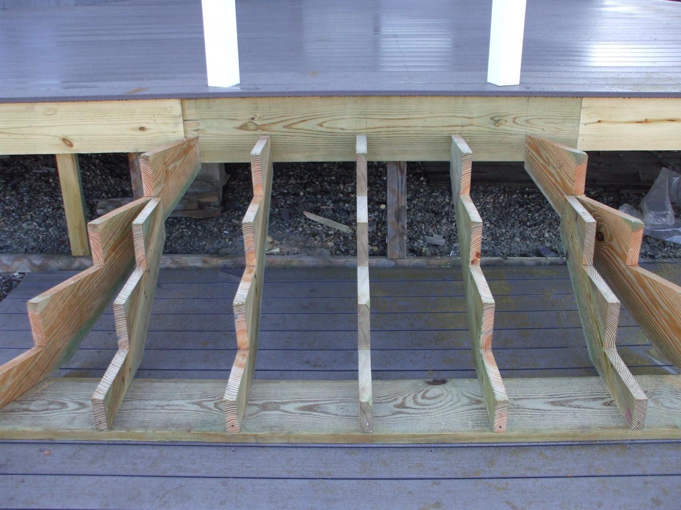 Cascading Deck Stair Plans Joy Studio Design Gallery Best Design