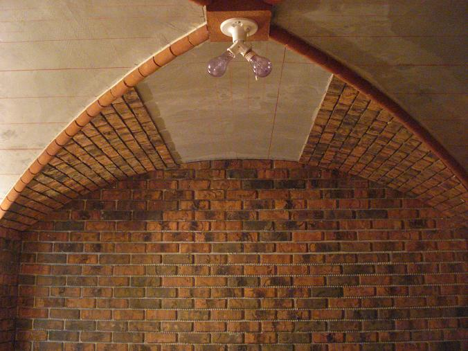 Groin vault ceiling pictures page 2 masonry for Groin vault pictures