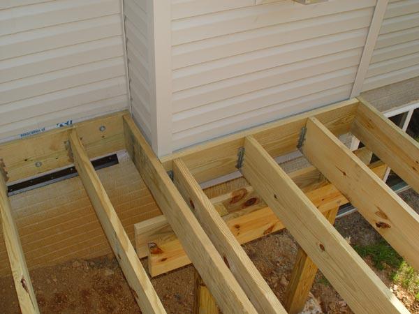 Flashing Deck Ledger Pic Decks Amp Fencing Contractor Talk