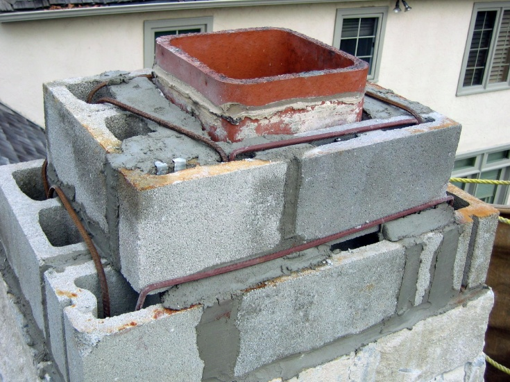 masonry chimney liners flue liner vs chimney cap masonry contractor talk