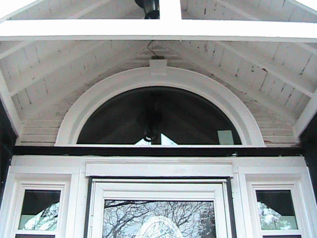 Capping A Half Round Windows Siding And Doors