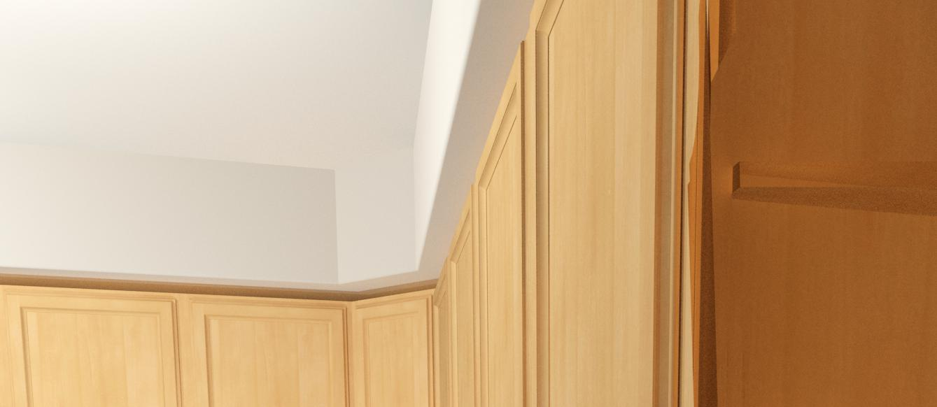 How to build a soffit box with recessed lighting the family handyman - Building Soffit Above Kitchen Cabinets Kitchen