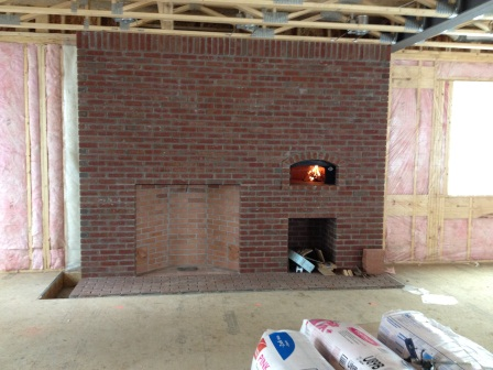 kitchen fireplace with cooking oven masonry contractor talk