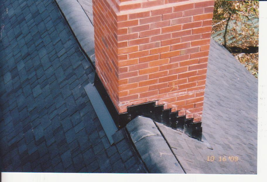 Question About Waterproof Shingle Underlayment At Chimney
