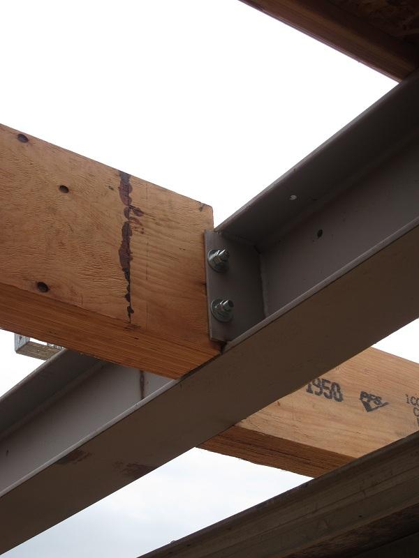 Steel I Beams ~ Steel i beams and floor joists construction contractor