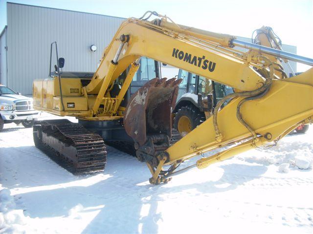 Komatsu PC150 ? - Excavation & Site Work - Contractor Talk