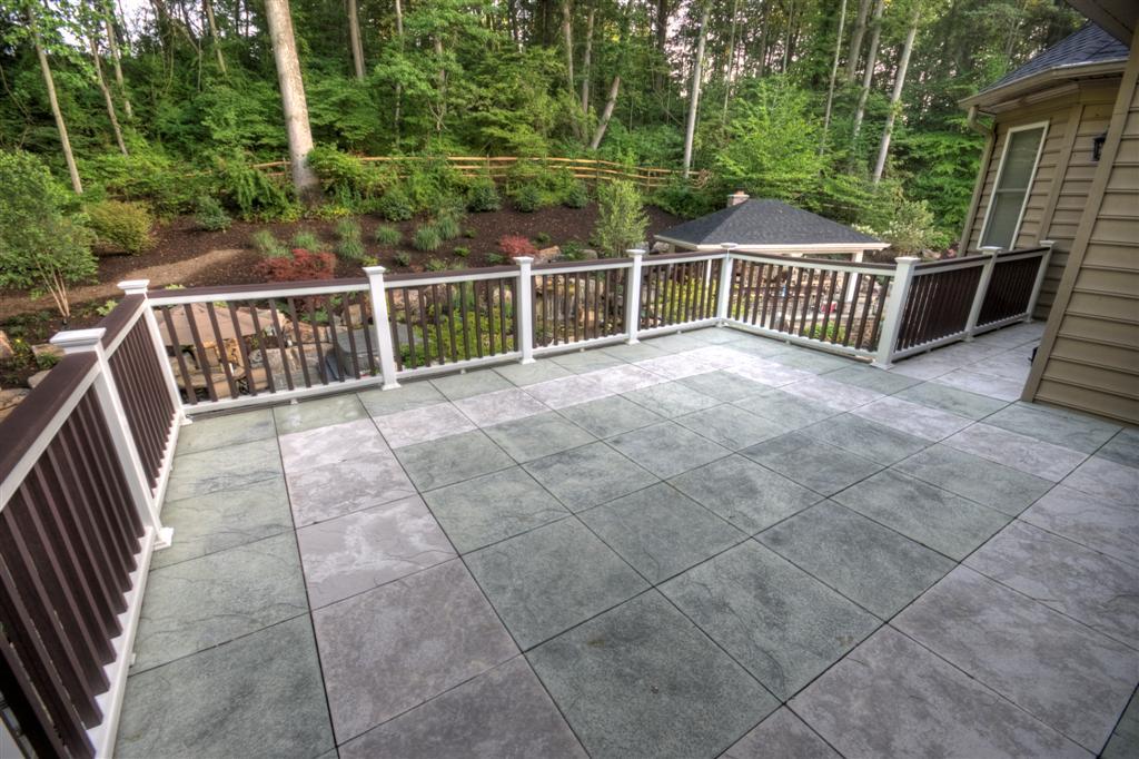 Tile Deck With A Steel Frame Korsnick Top Hdr 2