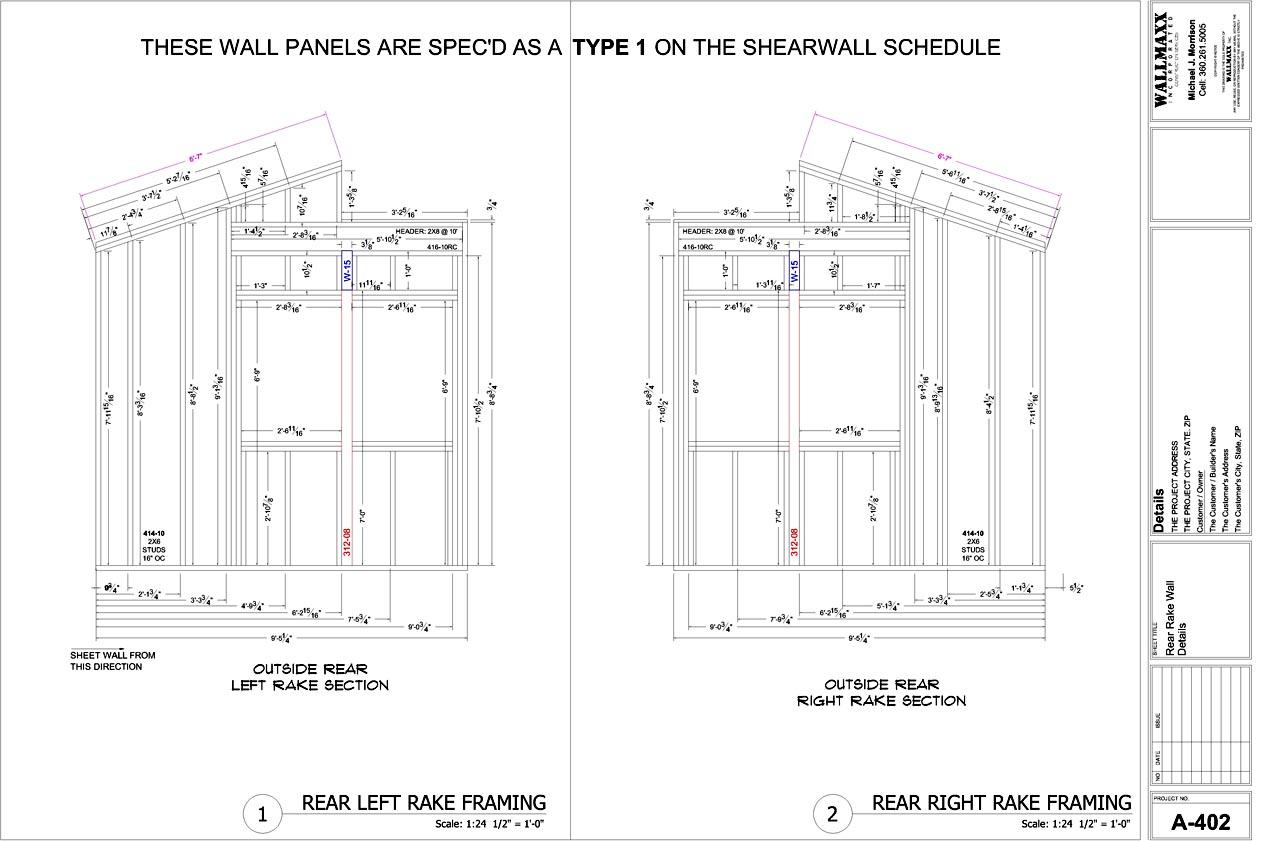 Wall Framing Details : Gable wall framing contractor talk