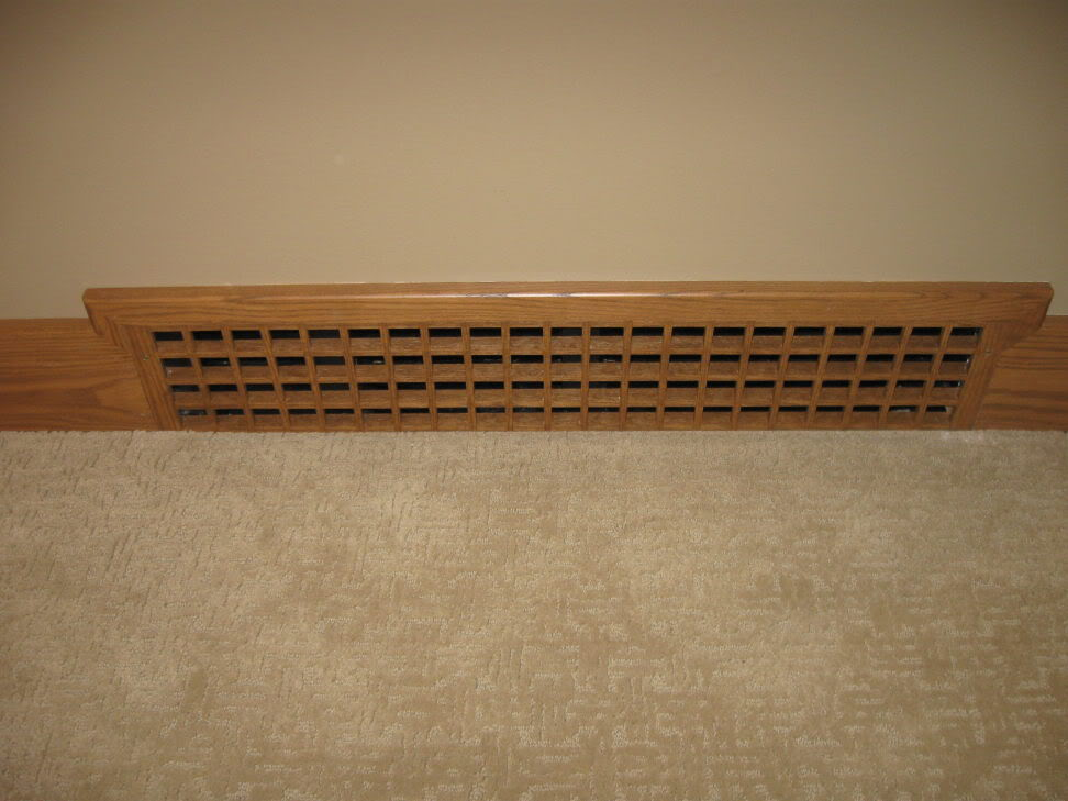 Flush Integrated Baseboard Registers Finish Carpentry