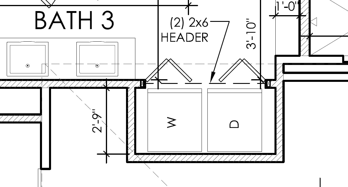 Need 2 More Clear Opening Between 5 0 Bifold Doors