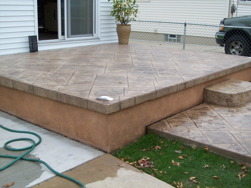 Image Result For Seal Stamped Concrete Patio