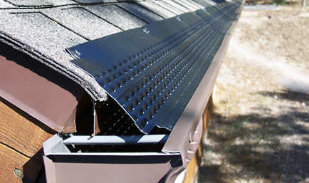 Gutter Guards With Strap Type Hangers Roofing