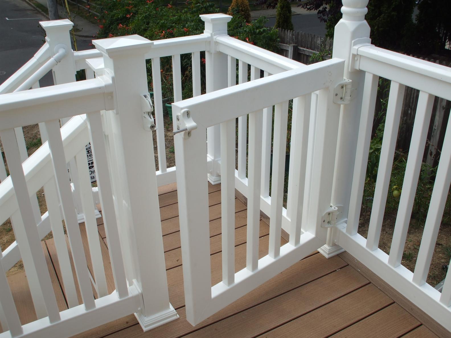 "36"" To 42"" Railing Modification Question - Decks & Fencing ..."
