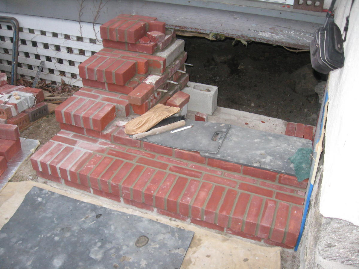 Little brick steps masonry contractor talk for How to build a brick house step by step pdf
