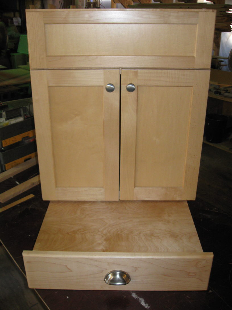Vanity Toekick Space Step Stool Storage Page 3 Finish