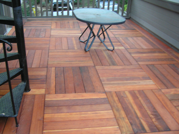 Best Way To Build A Removable Deck Over A Flat Roof