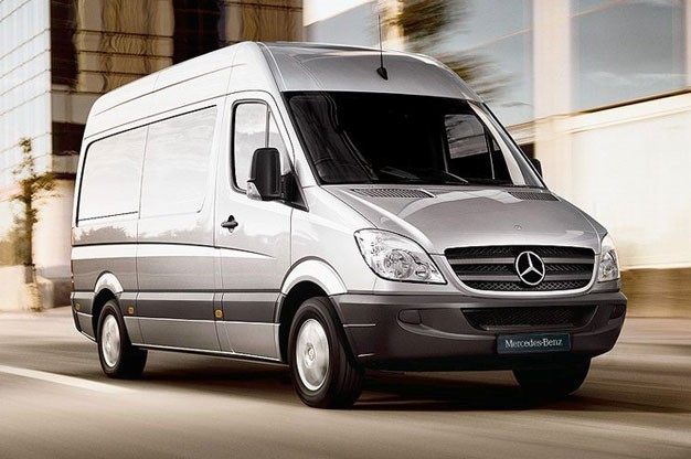 HO Perception Rolling Up In A Mercedes Sprinter