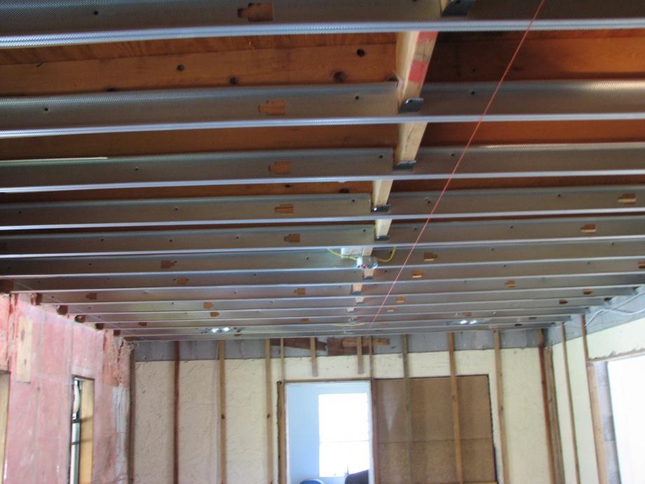 Ceiling Leveling Metal Framming 001 Jpg