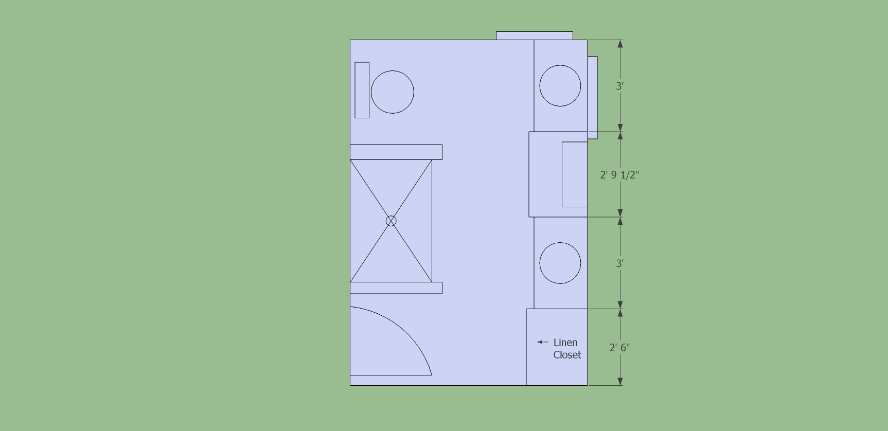 7x7 bathroom layout the best 28 images of 4x6 bathroom for Bathroom design 7x7