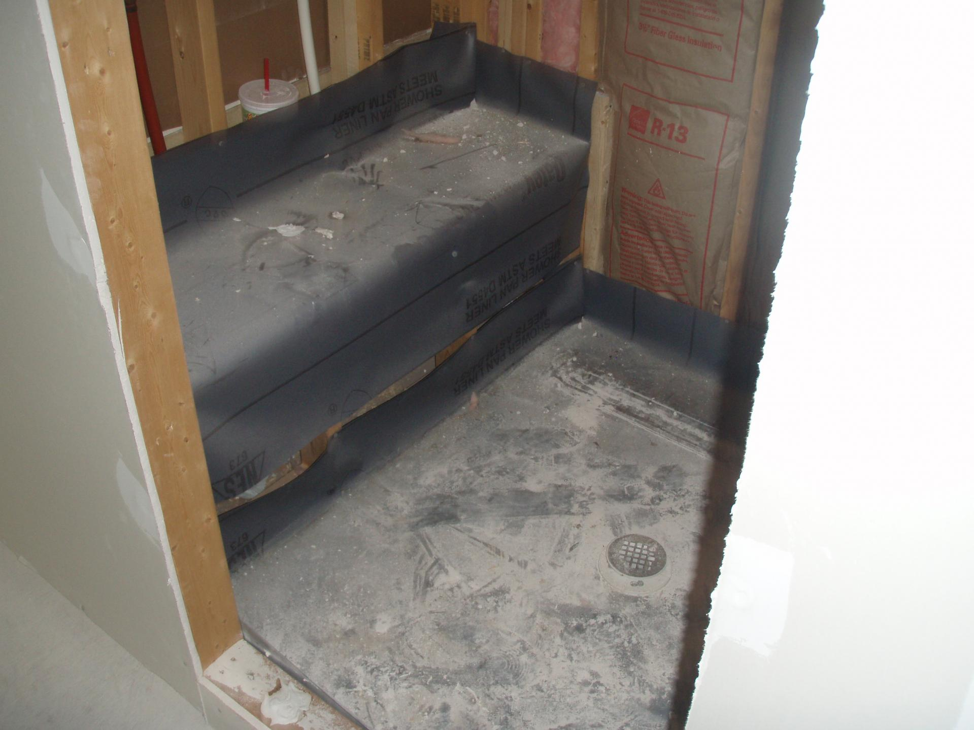 Ordinaire 002 Tiling Shower And Seat Misc.