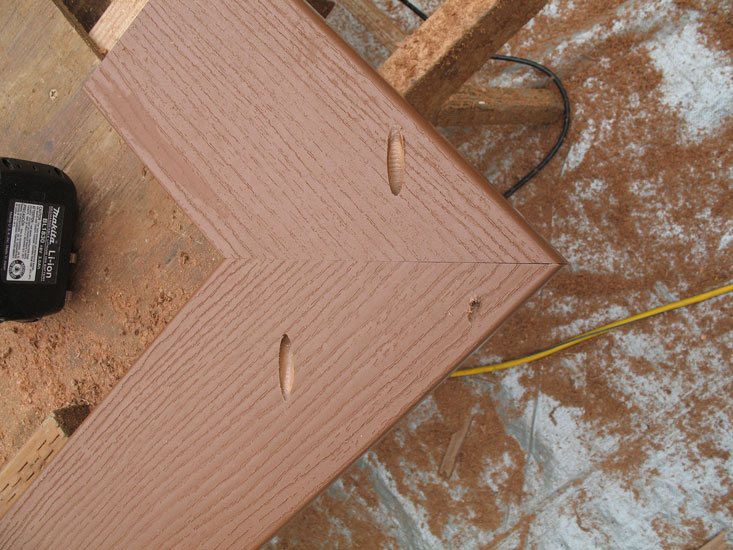 Biscuit And Glue Correct Deck Decks Amp Fencing