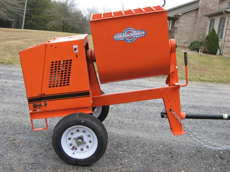 Cement Mixer Blades : Cement mixers what do you have masonry contractor talk