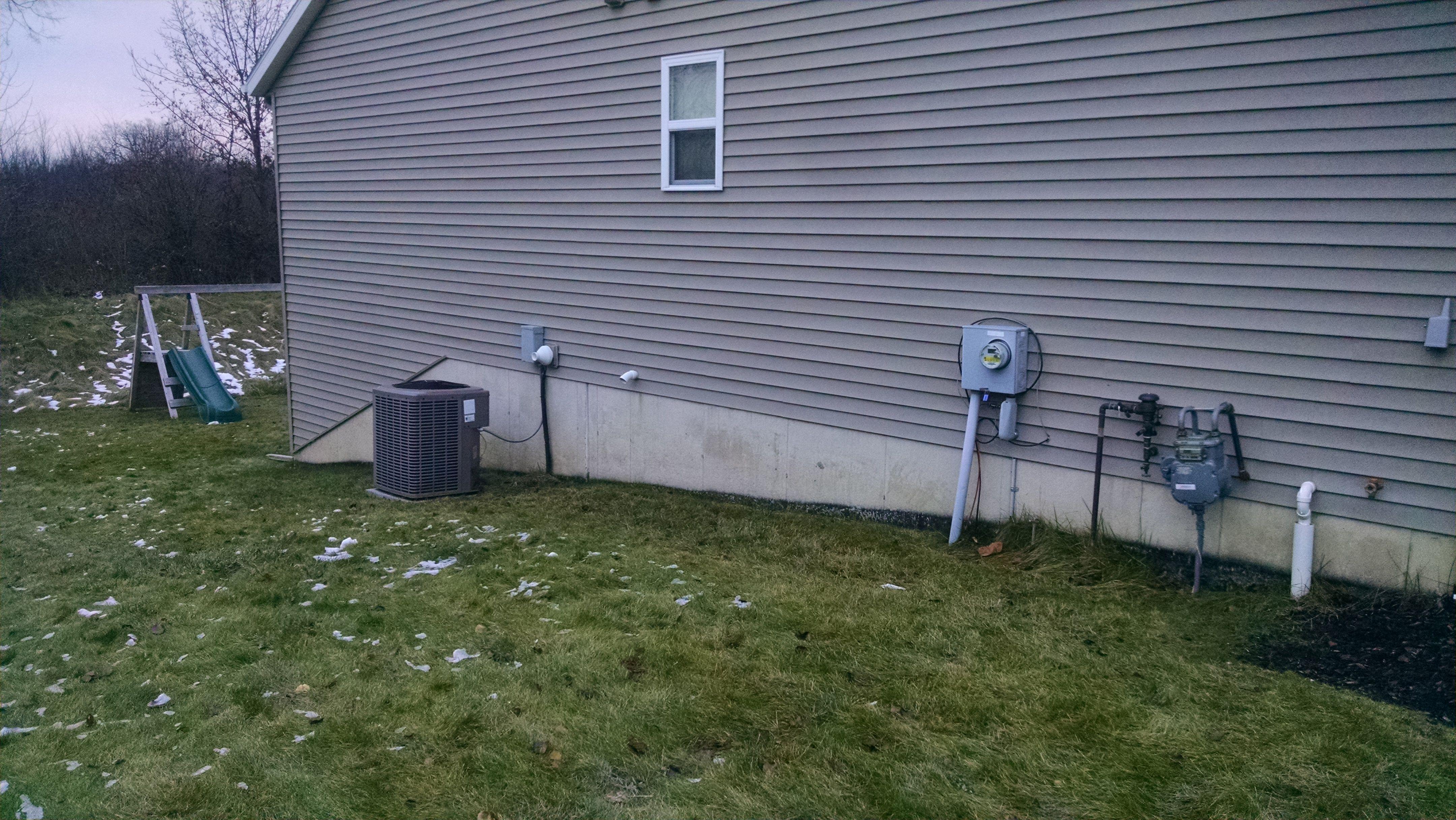 Moisture on poured walls - basement remodel-moistureoutside.jpg