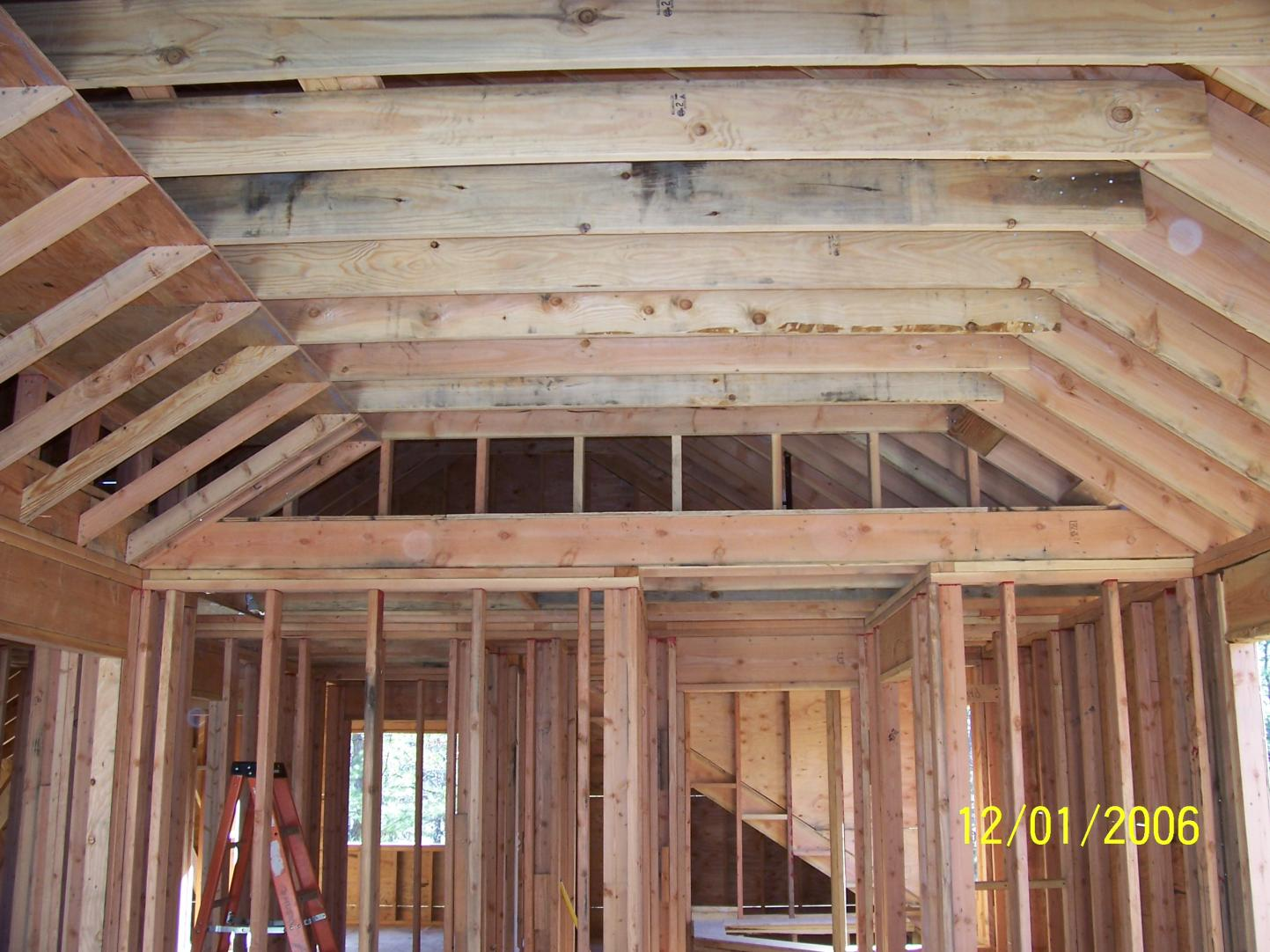 Vaulted ceilings ceilings and cottage renovation on pinterest for Home plans with vaulted ceilings