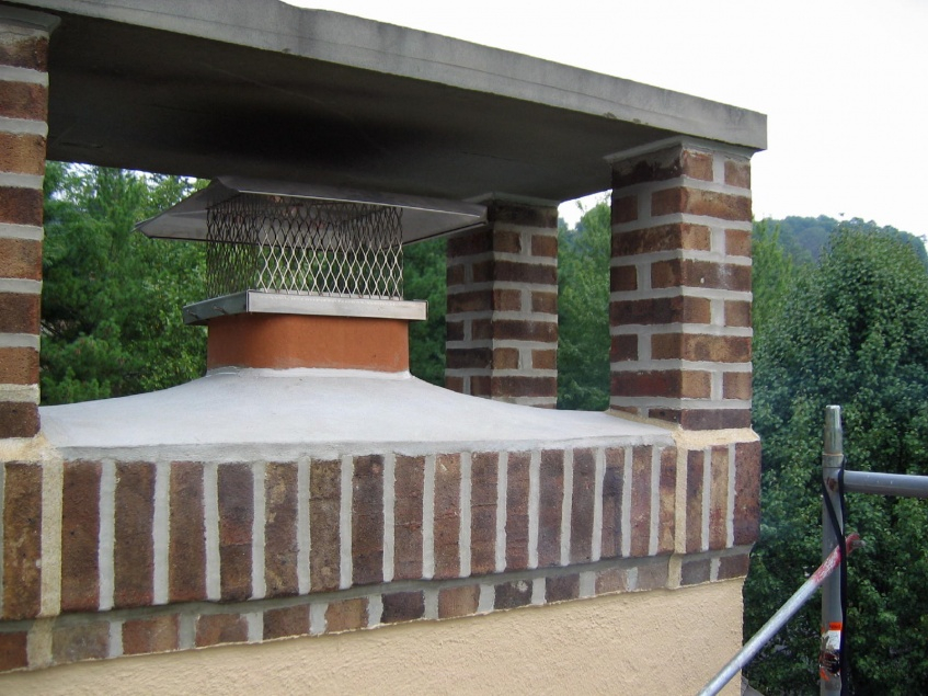 Flue Liner Vs Chimney Cap Masonry Contractor Talk