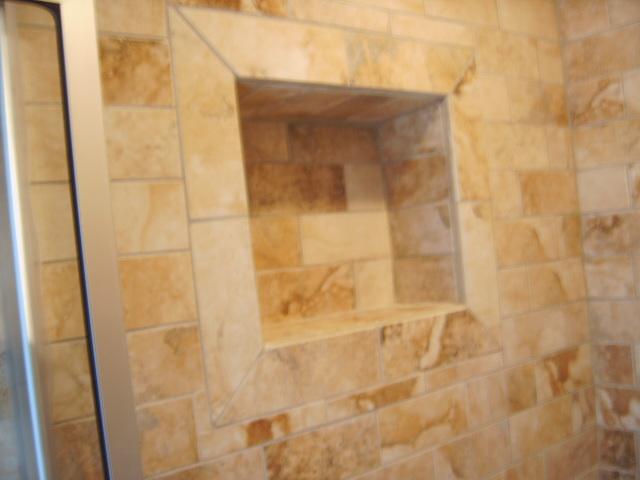 Subway Tile Shower Remodel
