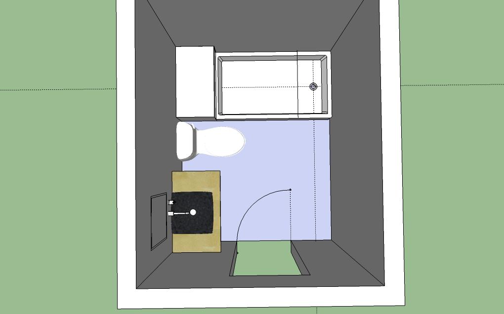 Does this bathroom design work remodeling for Bathroom designs normal