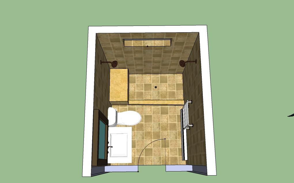 Does This Bathroom Design Work New Bathroom Layout