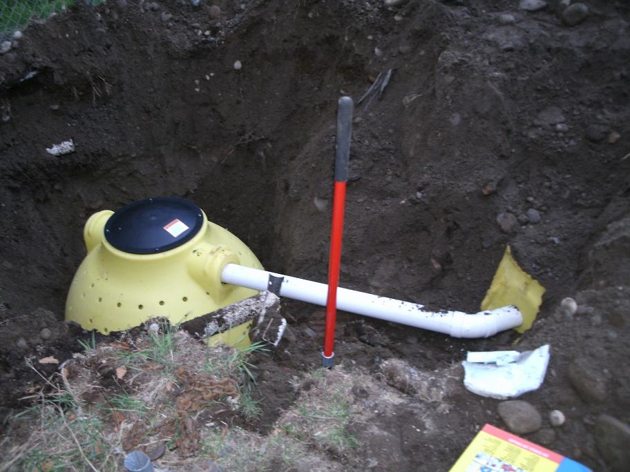 how to build a dry well septic system