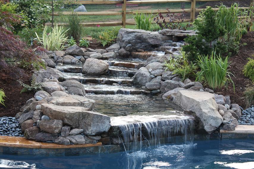 Filename: 57187d1318728584 Travertine Patio Waterfall Landscape New  Waterfall