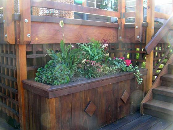Deck Planter Box Liner Decks Amp Fencing Contractor Talk