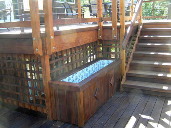 How To Build A Large Planter Box For A Deck