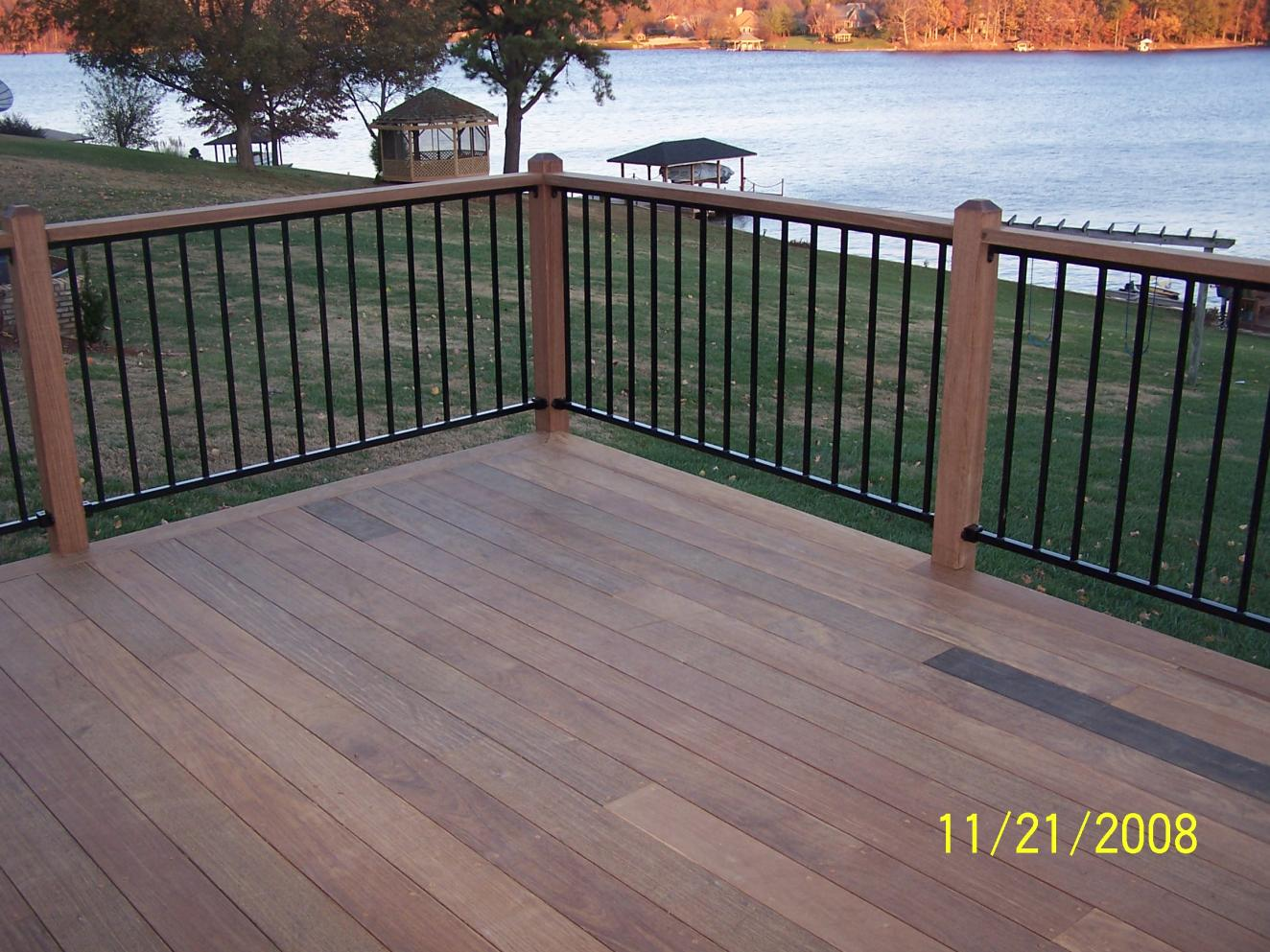 Cost of composite decking vinyl hand rail page 3 Composite flooring for decks