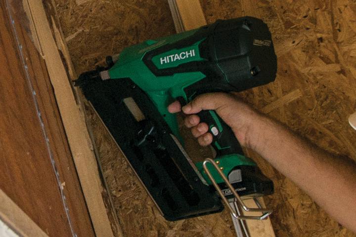 Hitachi NR1890DR 18V Cordless Brushless Plastic Strip 31
