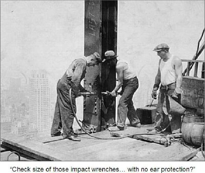 empire state building construction ended relationship