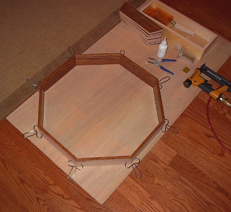 how to cut an octagon on a table saw