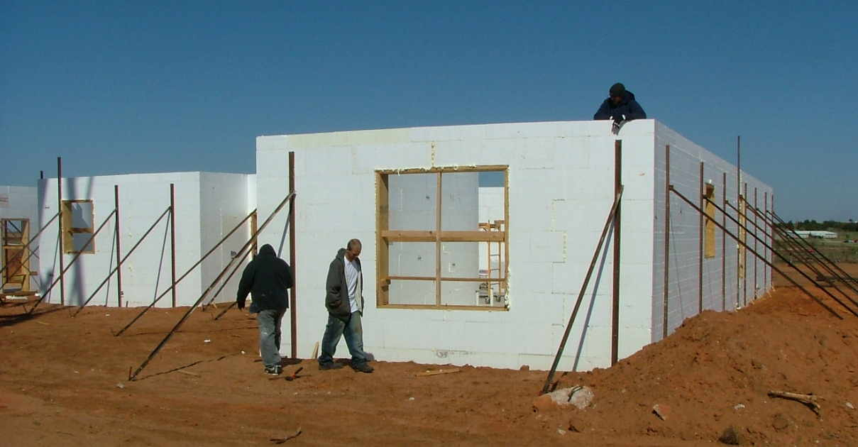 Icf Home Build In The Tornado Path Construction Picture