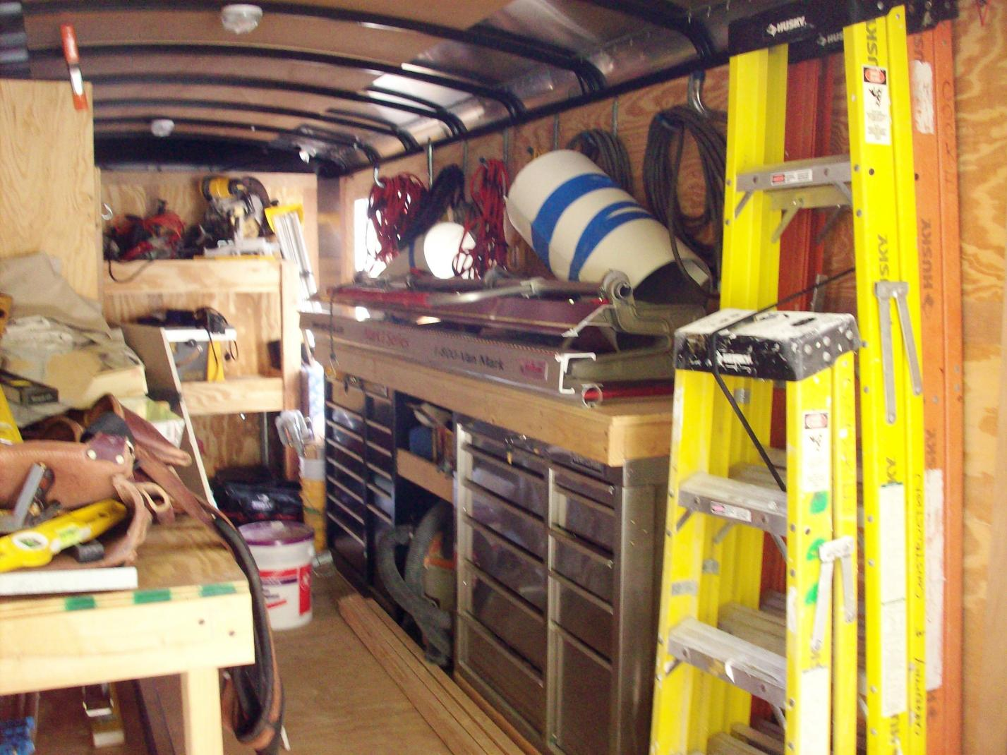 Break Trailer Set Up Tools Amp Equipment Contractor Talk