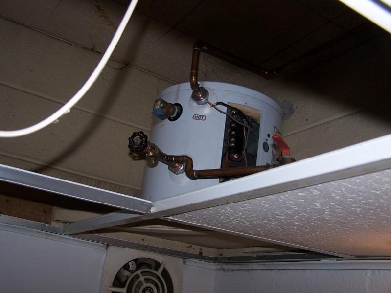 Undercabinet Water Heater.